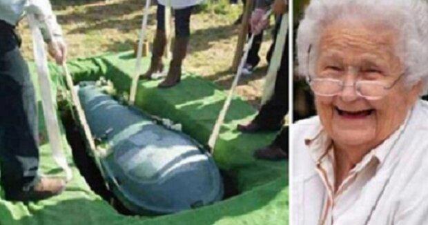 Muž chtěl být pochován se svým majetkem. To, co udělala jeho  žena, je geniální