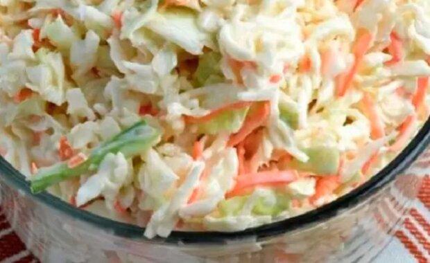 Recept na vás již čeká. Geniální salát coleslaw přímo jako z kfc