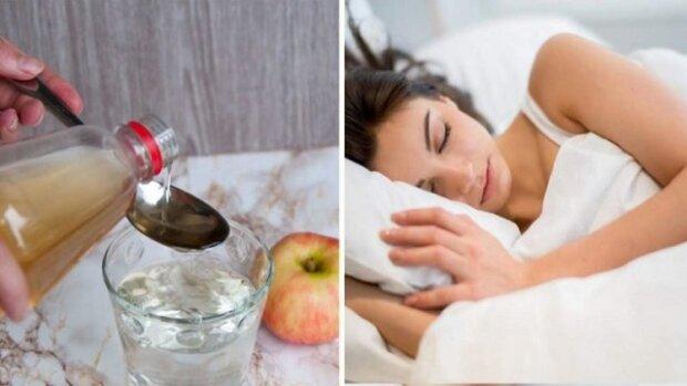 Smíchejte jablečný ocet s medem a vypijte to před spaním. Výsledný efekt vás překvapí