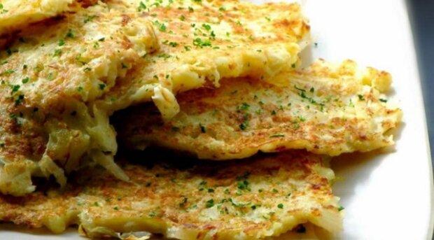 Placky z kysaného zelí – absolutní delikatesa k obědu