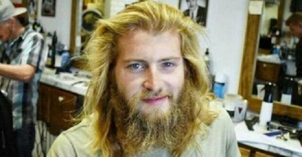 Muž si chtěl jen trochu upravit vousy, ale holič to udělal po svém