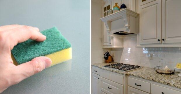 Toto je způsob jak vyčistit všechny zaschlé skvrny, mastné povlaky a veškerou špínu z kuchyňské linky. Bude jako nová