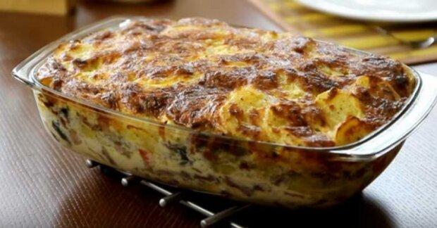Mámin recept na zapékané brambory. Oceníte tu dokonalou chuť