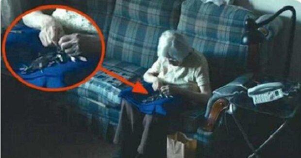 Neuvěříte, co dělá 98-letá babička, aby zapomněla na samotu. Podívejte se