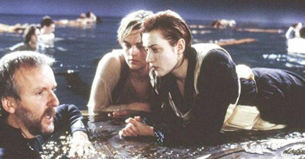 """Budování legendy: archivní fotografie z natáčení filmu """"Titanic"""""""