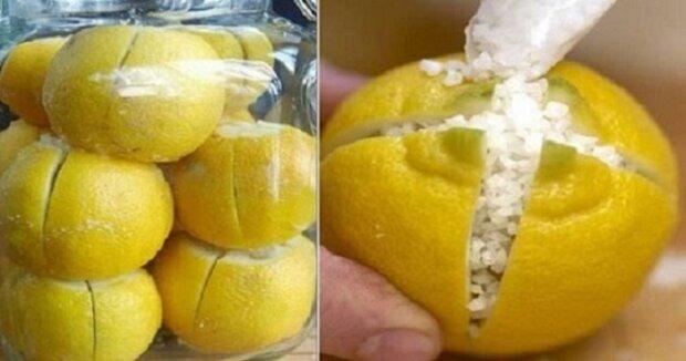 Nařezala citróny a nasypala do nich sůl. Když jsem viděla proč, udělala jsem to sama