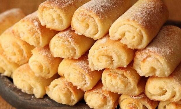 """Recept na tvarohové sušenky """"Křupavky"""""""