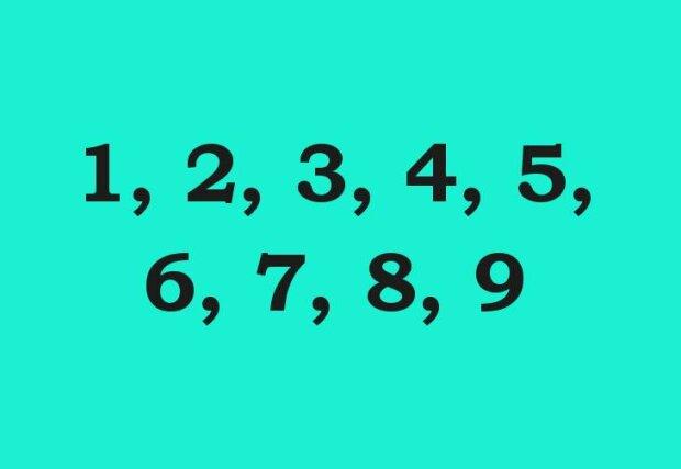 Vyberte si jedno číslo a na základě toho poznáme váš věk