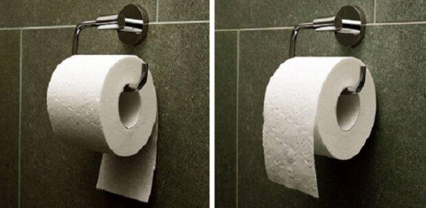 Způsob, jakým věšíte toaletní papír ukazuje, jaká je vaše osobnost. Věšíte jej zevnitř ven nebo zvnější dovnitř?