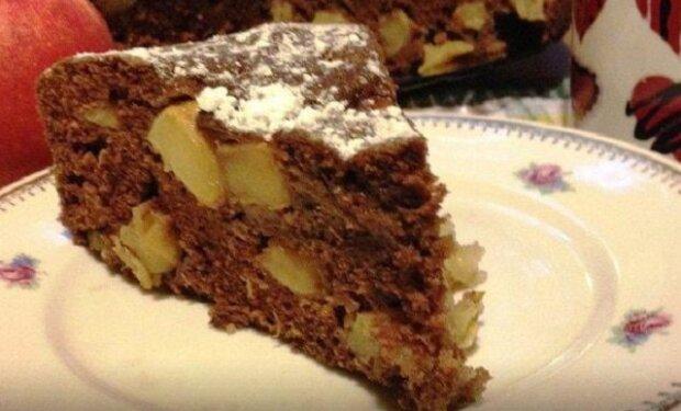 Uděláte je za pouhých 10 minut- nejlepší recept na čokoládový koláč s jablky