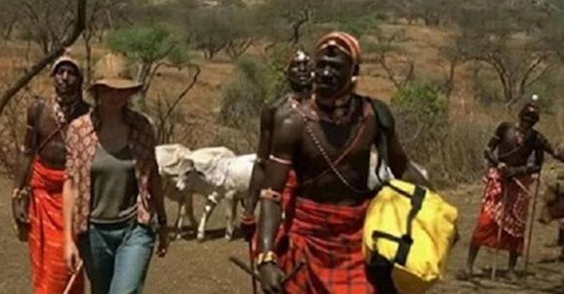 Švýcarka se provdala za Afričana z kmene Masajů a přestěhovala se do Keni
