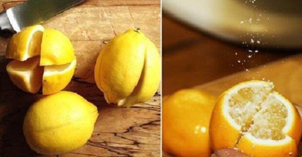 Překrojte citrón na 4 části, posypte solí a položte vedle postele. Toto je opravdový trik našich babiček