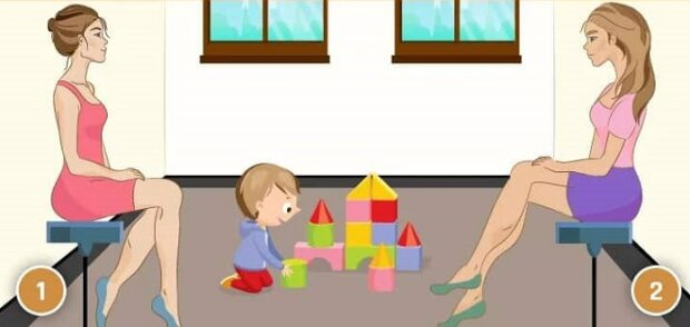 Test, jestli dokážete rozpoznat, která ženna je matka dítěte