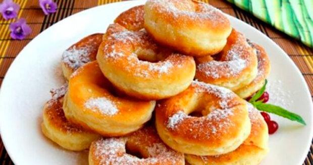 Kefírové donuty během 5 minut